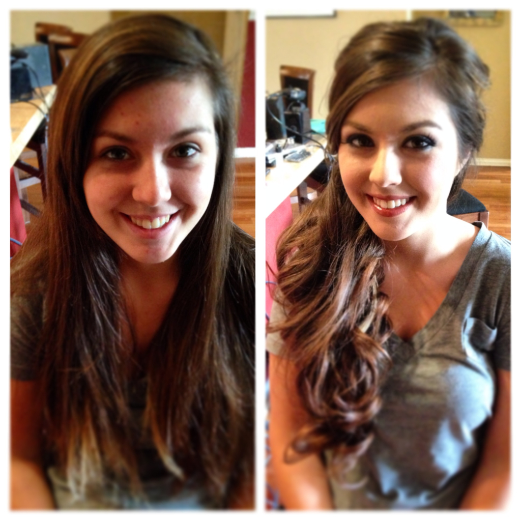 Long hair bride ideas in fort worth texas and dallas texas