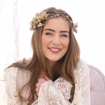 flower crowns for prom, prom inspo, prom hairstyles